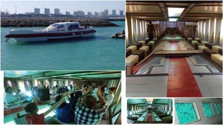 کشتی آکواریوم گردشگر