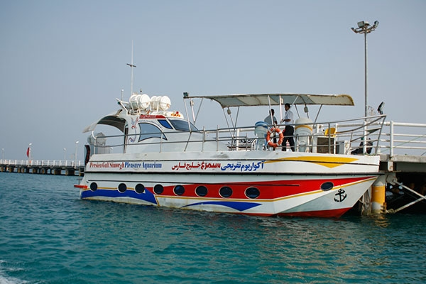 کشتی آکواریوم سیمرغ