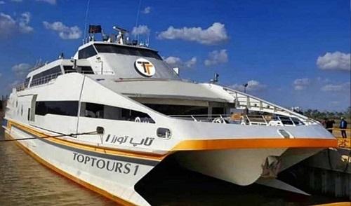 کشتی vip تاپ تورز